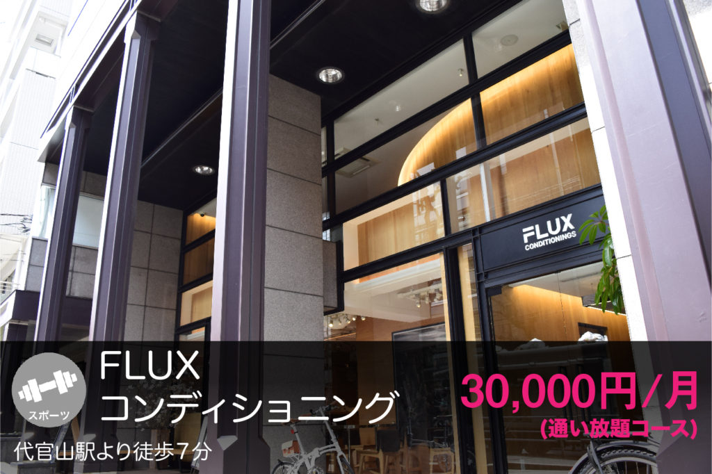 FLUXコンディショニングの外観