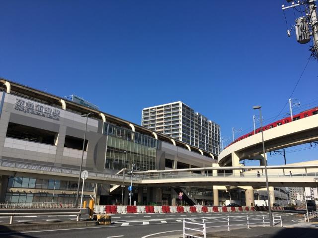 蒲田駅の風景