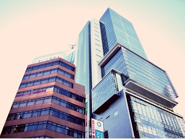渋谷駅宮益坂の画像