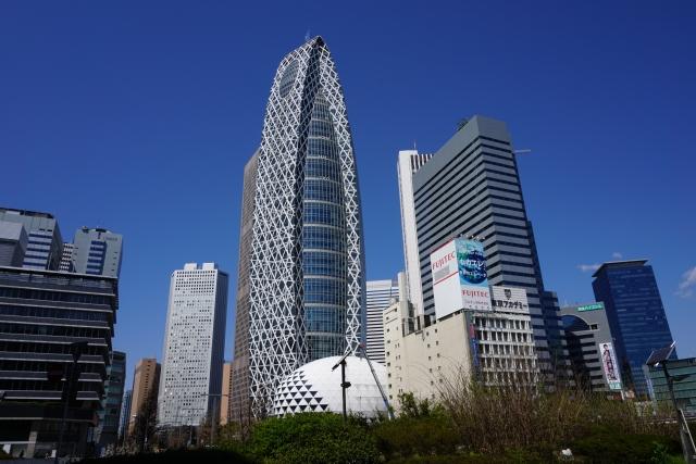 新宿西口の風景