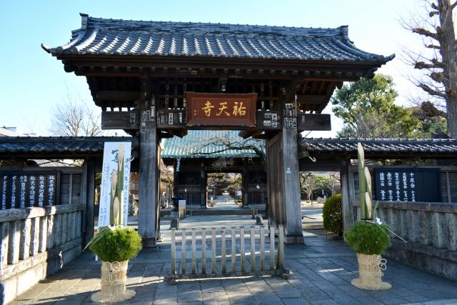 祐天寺の風景