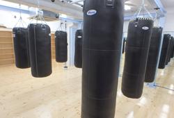 ボクシングクラブ上野の内観