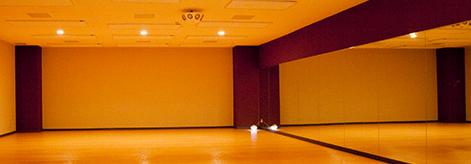 クラブユニバース西国分寺のヨガスタジオ