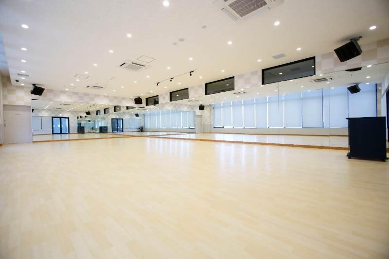 国立スポーツガーデンのヨガスタジオ