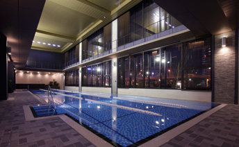 NAS Wellness & Spa CLUB芝浦アイランドのプール